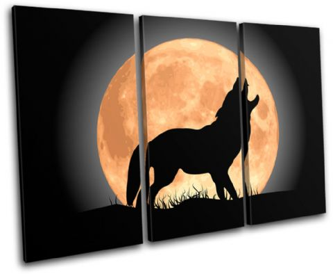 Wolf Moon Wild Animals - 13-0903(00B)-TR32-LO
